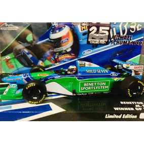 Mini 1/43 Minichamps F1 Benetton B194 Schumacher Gp Monaco