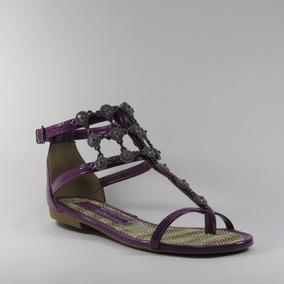Sandália Ramarim Em Sintético - Vz Plus/purpura 1624205