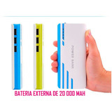 Power Bank Cargador Portatil Bateria 20000mah Envio Gratis