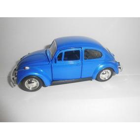 Fusca Miniatura 1/32 Azul Marinho