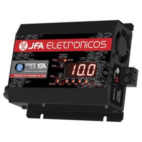 Fonte Automotiva Jfa 10a Slim 500w Carregador De Baterias