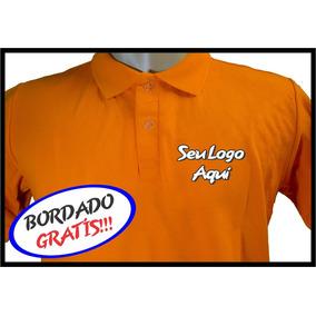 d29dc666da28c Camisa Polo Personalizada Bordada - Pólos Manga Curta Masculinas no ...