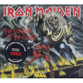 Cd Iron Maiden - The Number Of The Beast (1982) Lacrado