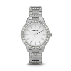 00bd373738ab Reloj Dama Fossil Es2362 Color Plata De Acero Inoxidable