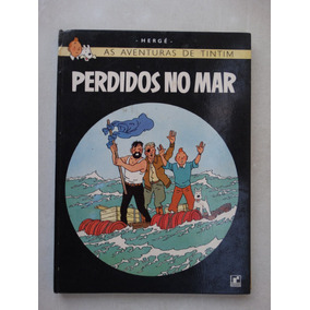 Tintim Perdidos No Mar! Record 1970! Capa Dura!