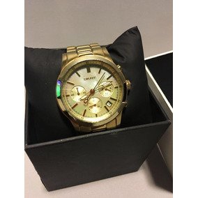 Reloj Dkny Dorado Usado