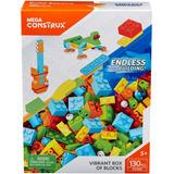 Mega Construx Caja De Bloques Tipo Lego 130 Piezas