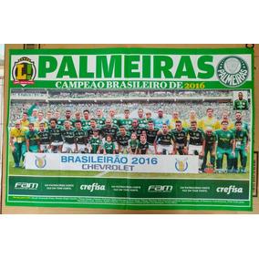 Poster Do Palmeiras - Campeão Brasileiro 2016