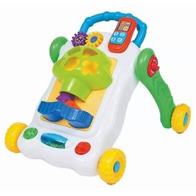 Andador Infantil Bebê Buba Musical Multi Atividades - Novo