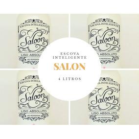 4 Escovas Salon Todas De 1 Litro.