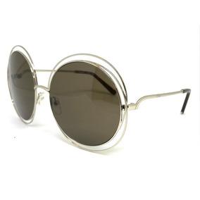 01e7ba1f1850a Oculos De Sol Chloe Carlina Original - Óculos no Mercado Livre Brasil