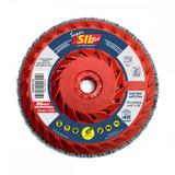 Disco Flap Super Sil Red Com Rosca 4.1/2 X 7/8 G40 - Sil