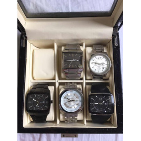 Armani Relogios Antigos Colecao - Relógios De Pulso no Mercado Livre ... d6deb97071