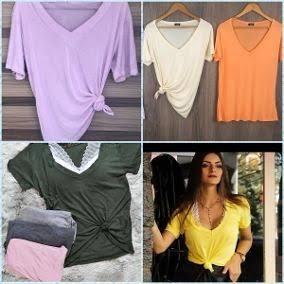 4 Camiseta Feminina