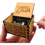 Caixa Caixinha De Musica Zelda Manivela
