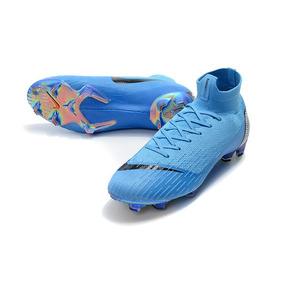 Verde Piscina Campo Nova Nike Mercurial Amarela C - Chuteiras Nike ... c1527b8998d04