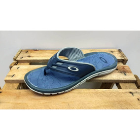 Chinelo Da Oakley Cinza E Azul - Calçados, Roupas e Bolsas Azul no ... 3736d517f9