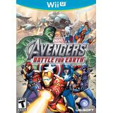 Juego Digital Wii U Marvel The Avengers B.o.e. Somos Tienda