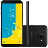Celular Samsung Galaxy J6 Preto 32 Gb Cam 13 Mp
