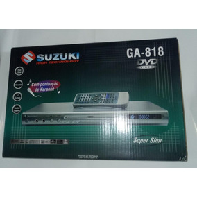 Dvd Player Suzuki Ga-818 Mp3 ( Sem Hdmi E Usb) Novo