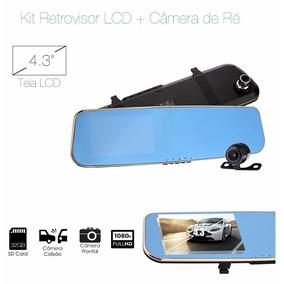 Retrovisor Camera Veicular Automotiva Hd Carro Camera De Ré