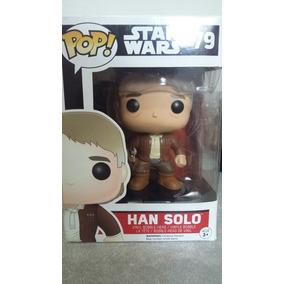 Funko Pop Star Wars Luke Pilot, Han Solo E Finn