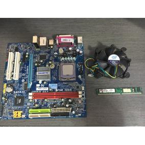 Kit Placa Mãe 775 Ddr2 + Core 2 Duo + Ram + Cooler