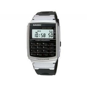 18b8ca61ae2 Ca 56 1df Relogio Casio Databank Calculadora Retrô Anos 80 ...