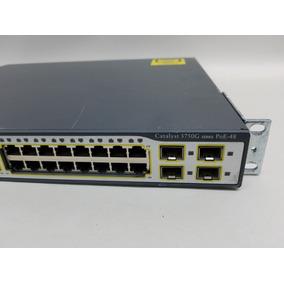 Switch Cisco Catalyst 48 Puertos Poe 3750g Series