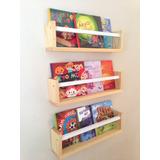 Repisa Librero Infantil Flotante (modelo Corchete)