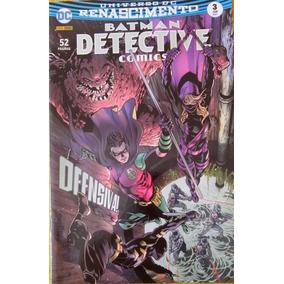 Hq Batman Detective Comics N° 3 Ed. Jun / 2017 - Ofensiva !