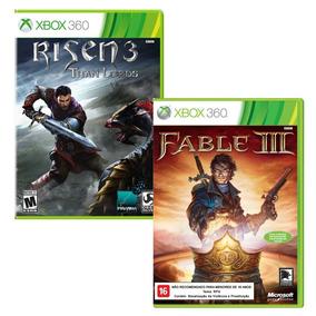 Risen 3 / Fable 3 Xbox 360 Originais Novos Lacrados
