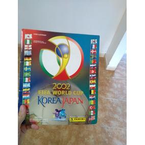Álbum Da Copa De 2002 - Ótimo Estado - Pentacampeã Mundial