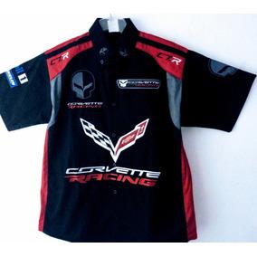 Camisa Corvette Scuderia Nascar Carreras F1 Autos Corvette 4865b3e6e25