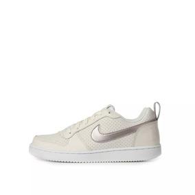 Tenis Nike Court Borough Low G Para Niña Color Beige 2652627