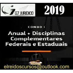 Curso Carreira Jurídica 2019 G7 /jurídico/ + Brindes
