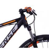 Bike 29 Sense 24v. Rock Shimano T15 - Preto Laranja