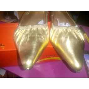 Zapatos Nuevos Reina Dorados Marca Kettal