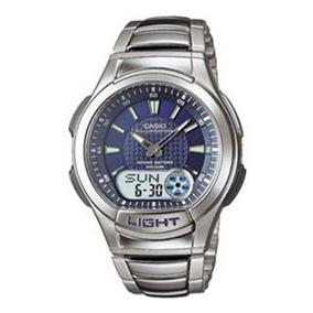 ff2980a6ac1 Lindo Clássico Casio Aw49he 2av Ana Digi Relógio Dual Time ...