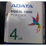 Ram Sodimm Ddr3 1600 Pc3-12800 Adata Memoria Ram Almacenamie