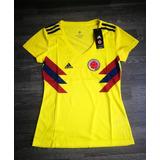 Camiseta Oficial Selección Colombia Dama Todas Las Tallas.