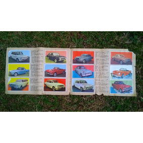 Álbum De Figurinhas Automóveis Modernos 18 Pag E 216 Figuri