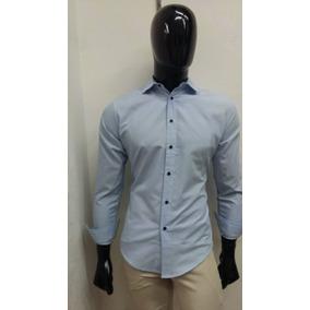 Camisa Para Hombre Color Azul Cielo