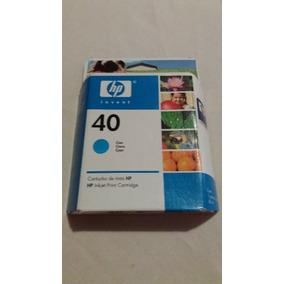 Tinta Original Hp 40 Vencido