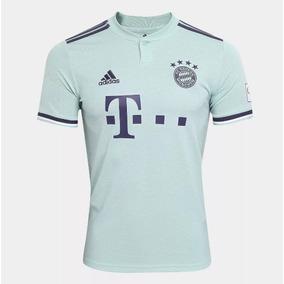 987d973d09 Camisa Bayern Munich 2018 2019 Uniforme 2 Frete Grátis