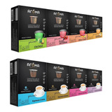 Kit 120 Cápsulas Para Nespresso Cápsula Café & Chá Aroma