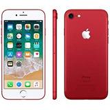 Smartphone Apple Iphone 7 128gb Red + Lamina + Envio Gratis