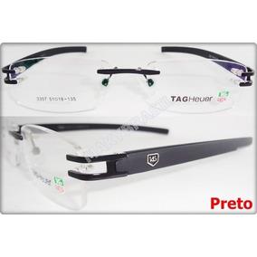 Armação Óculos Tag Heuer Flexivel Preto Silicone Th0349 - Óculos no ... d3a82d29f6