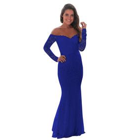 Vestidos Hombros Caidos De Noche Largos Mujer - Vestidos de Mujer ... 28096c7e6dc3