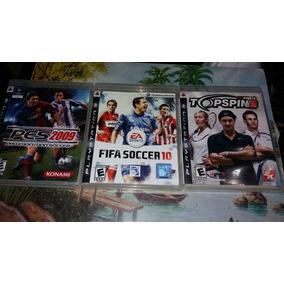Coleção Jogos Ps3 Pro Evolution Soccer Original